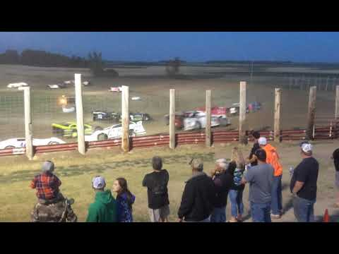 2017 July 23 Devils Lake Speedway Late model Feature