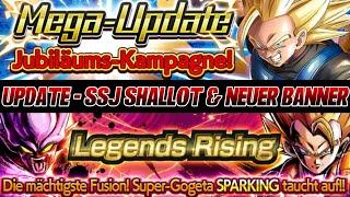 UPDATE - SSJ SHALLOT und Neuer Banner mit Gogeta & Janemba! HYPE! | Dragon Ball Legends Deutsch