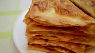 Как Приготовить Чебуреки: Ленивые Чебуреки