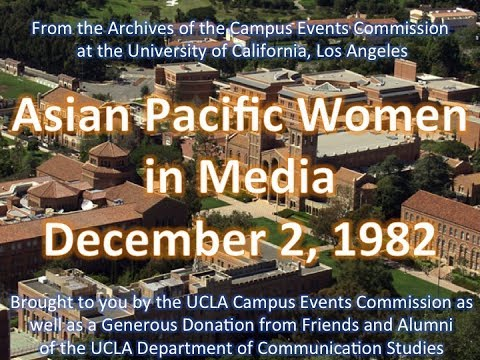 Asian Pacific Women in Media panel at UCLA 12/2/1982