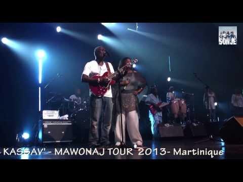 ZOUK - KASSAV' -CHAWA - MWEN ENVI OU -LIVE MARTINIQUE 2013