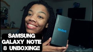 Samsung Galaxy Note 8 Unboxing And First Impressions 2017