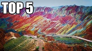 TOP 5 - Nejkrásnějších míst na zemi