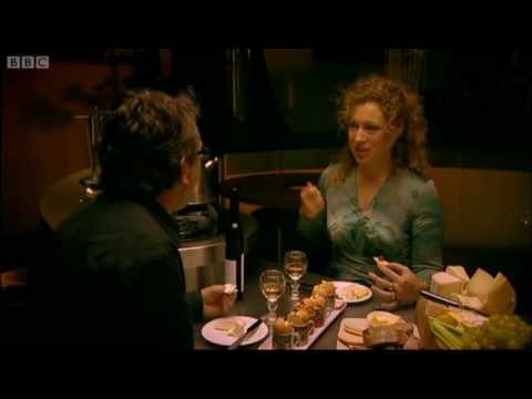 Alex Kingston makes Nigel Slater laugh - A Taste of My Life - BBC