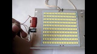 hoe te verbinden met 12v led-220v