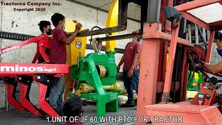 TRACTORCO - Delivery of Agricultural Machinery to 3 different customers in Southern Mindanao