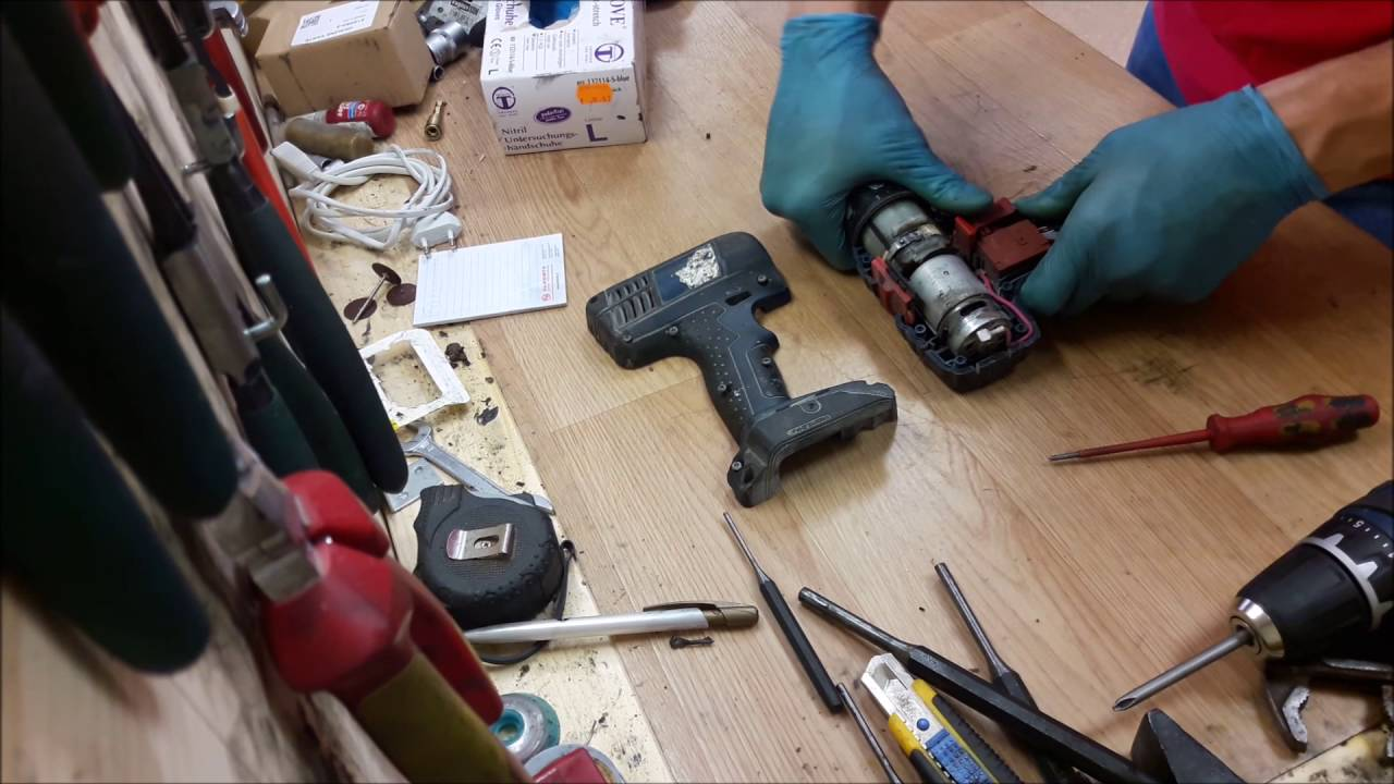 How To Disassemble Bosch 18v Li Ion Cordless Drill Youtube