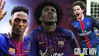 Fichajes y bajas del Barcelona 2018 - 2019 I Willian, Rabiot, Arthur, Yerry Mina