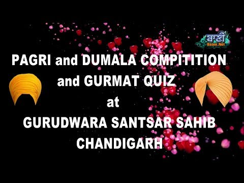 Pagri-Dumala-And-Gurmat-Quiz-Competition-At-Gurudwara-Santsar-Sahib-Chandigarh-5-April-2019