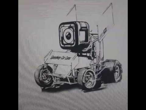 New Logo Draft Idea for Speedway Car Cams 2018