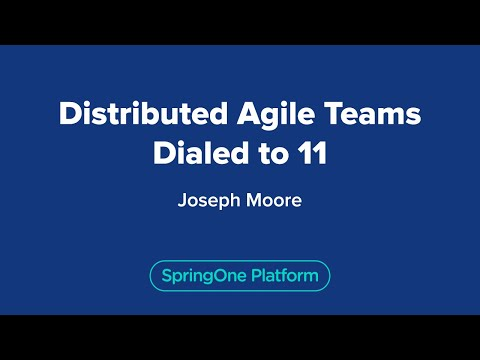 Distributed Agile Teams Dialed to 11