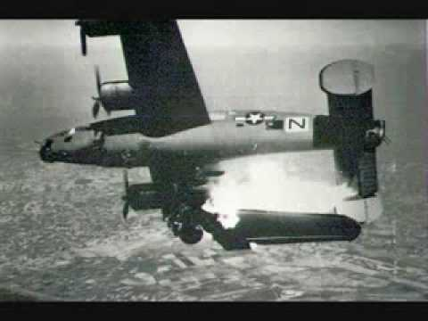 USAAF bombers damaged/shot down