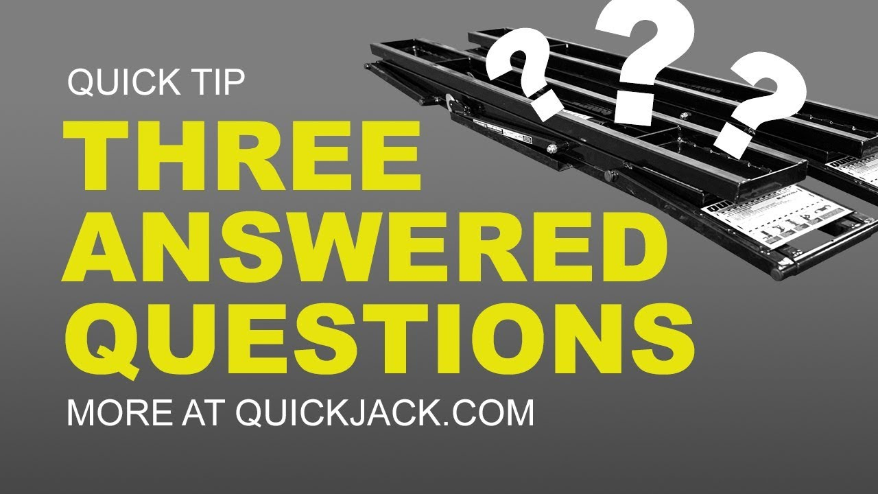 Quick Jack Com >> What Everyone Asks About Quickjack Youtube