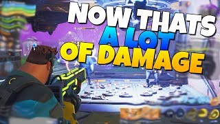 NOW THATS A LOT OF DAMAGE! (BIG Project POLL) | Fortnite Save The World