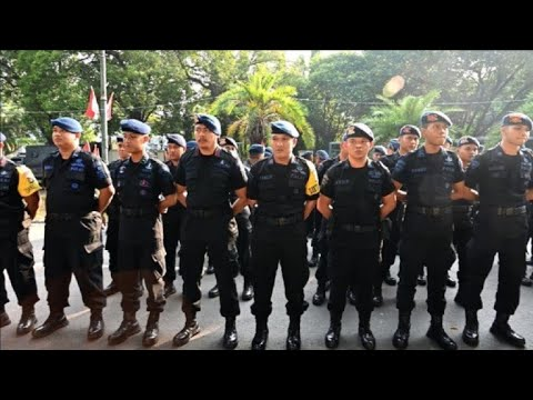 Heavy security in Jakarta after election result