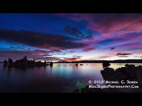 Mono Lake, Ca. Sunrise - Photography by Michael C. Jensen