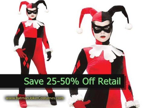 Where to Shop for Harley Quinn Halloween Costumes on Sale - YouTube