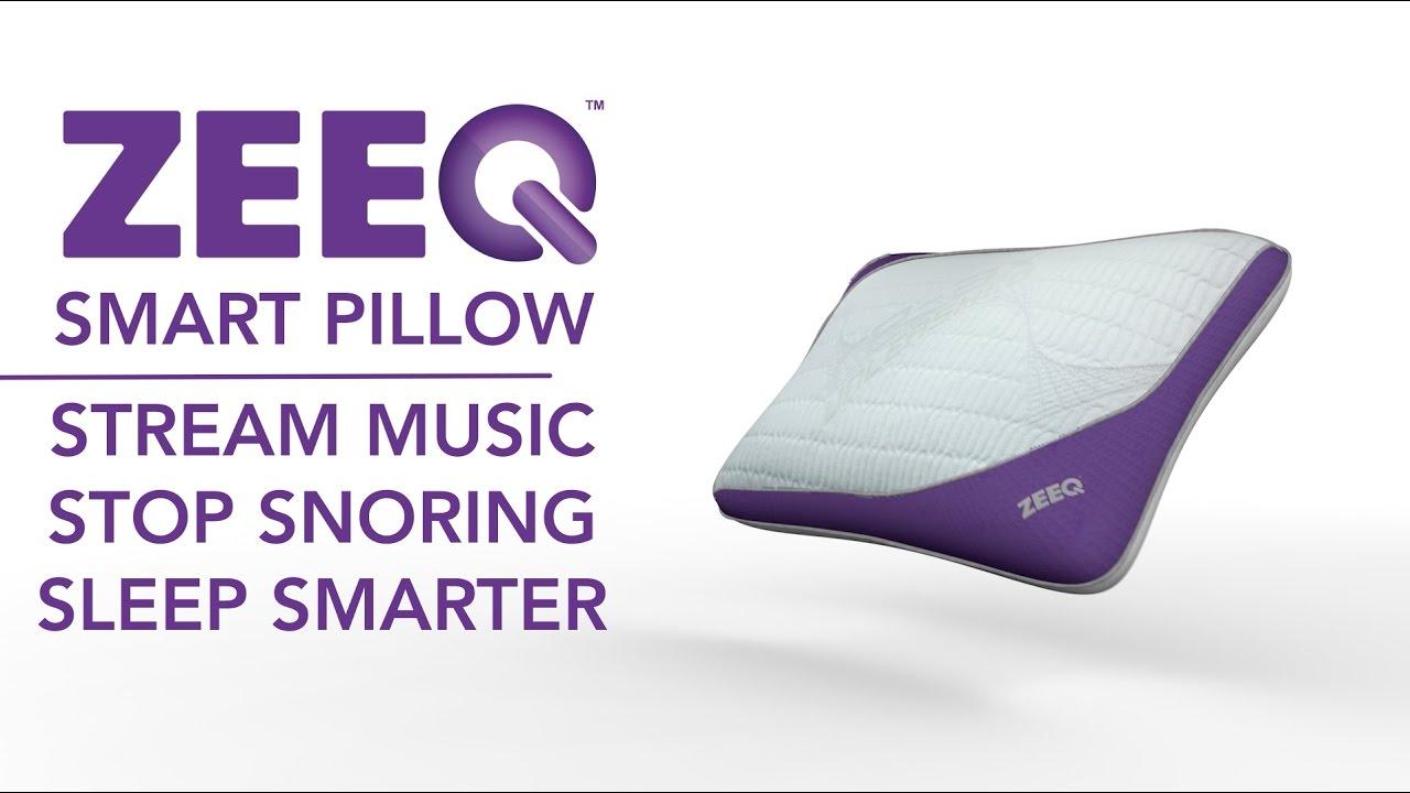 zeeq antisnore music pillow sleep smarter