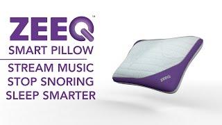ZEEQ Anti-Snore Music Pillow - Sleep Smarter