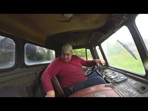 Байкер за рулём газ 66!!!Установил кузов на камаз 4310.