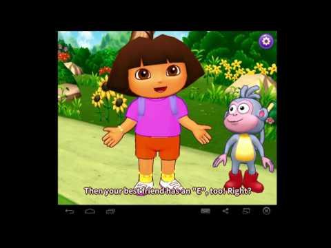 Dora Alphabet Letters EFG