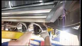 Установка выхлопной системы Mercedes G 55 AMG. Настройка звука выхлопа.