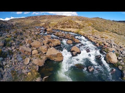 Barrancoso River Argentina Fly Fishing by Todd Moen