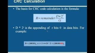 CRC Calculation with Professor Othon Voice