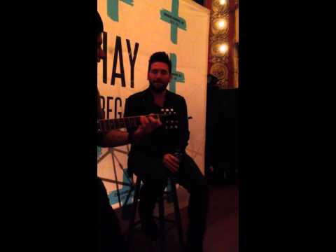 Shay Mooney singing Usher