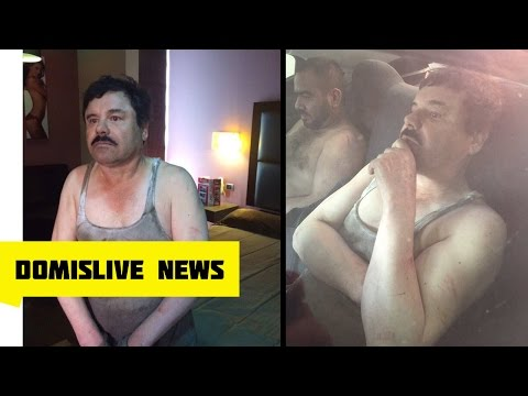 "El Chapo Guzmán Recaptured Video 1/08/2016 ""Drug Kingpin' (Joaquín El Chapo Guzmán Arrested Video)"