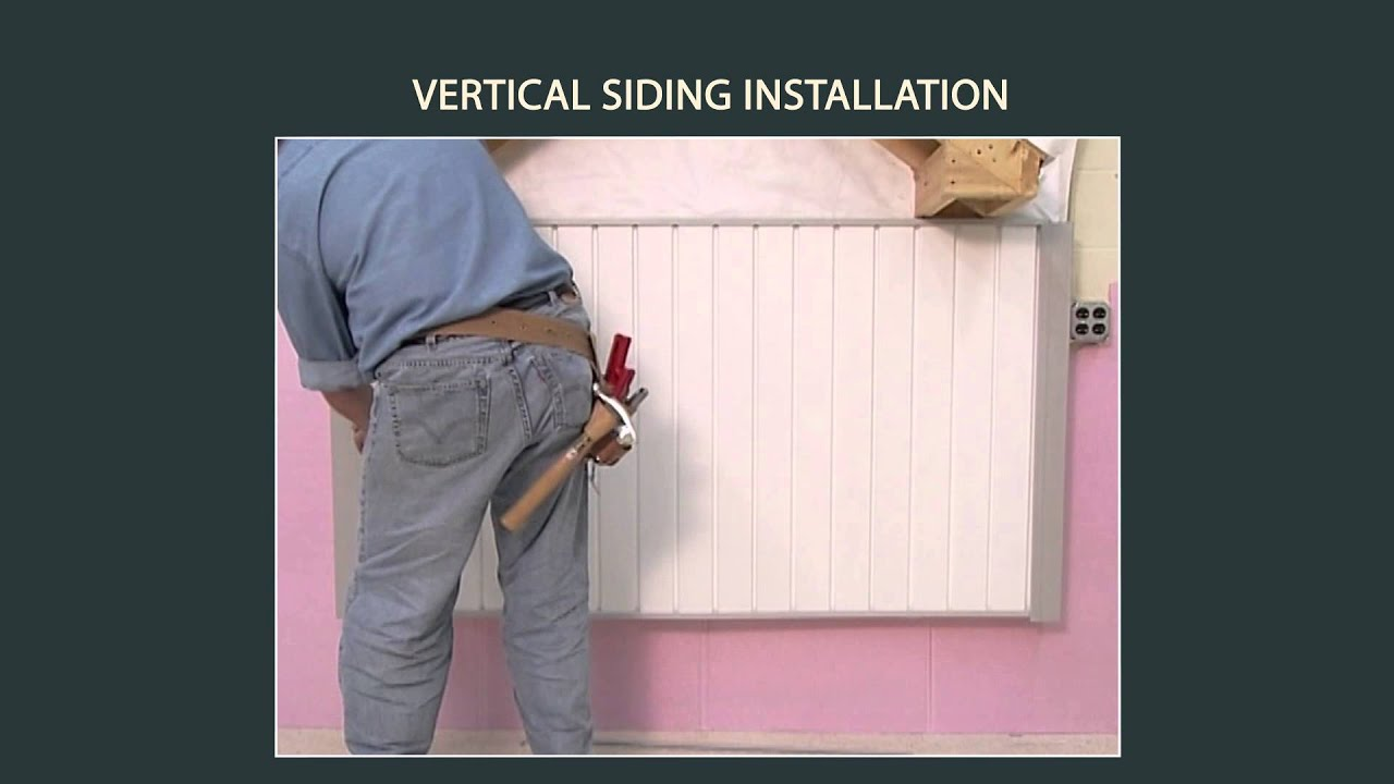 Vinyl Siding Installation Vertical Siding Installation Part 3 Of 9 Youtube
