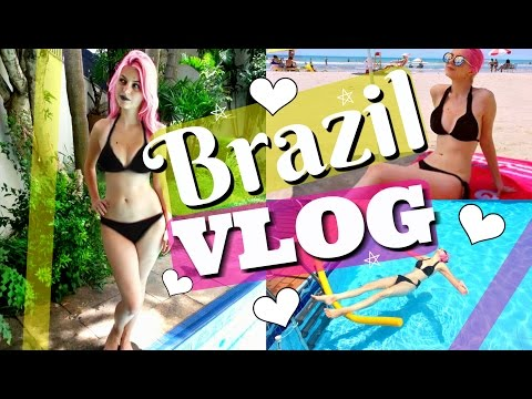 Brazil VLOG - Part 2 - Beach, Brasilia, Swimming Pool #UnicornDiaries