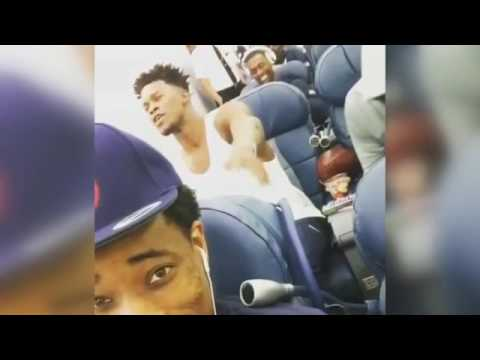Jimmy Butler sings with Kyrie Irving on Team USA plane