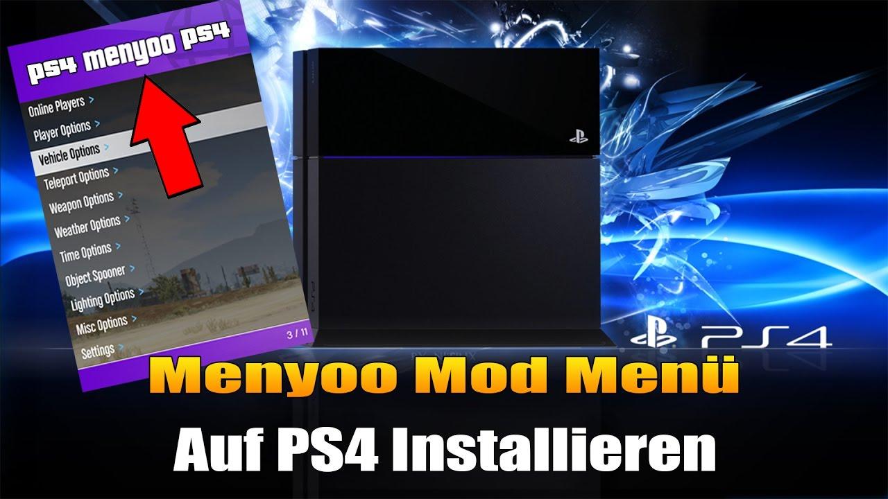 GTA 5 PS4 MOD MENÜ INSTALLIEREN