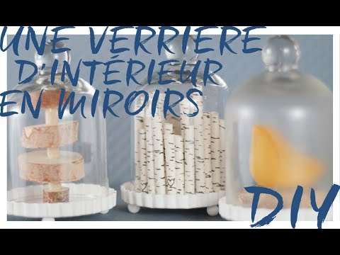 Diy une verri re d 39 int rieur en miroirs youtube - Comment coller un miroir au mur ...
