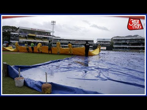 Rain In Port Of Spain Delays Second ODI