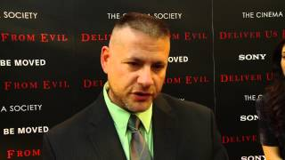 Deliver Us from Evil: Author Ralph Sarchie Red Carpet Movie Premiere Interview
