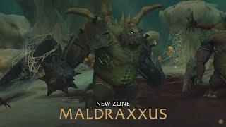 Maldraxxus Main Campaign - Full Playthrough - Shadowlands Alpha [Lore]
