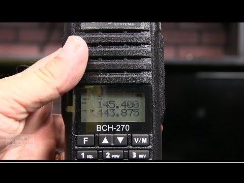 Ham Radio 2.0: Episode 113 - Unboxing and Testing the BridgeCom BCH-270 HT