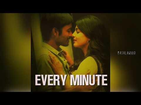 Best new whatsapp status video Tamil | 3 Movie BGM |Dhanush | Love quotes whatsapp status Tamil