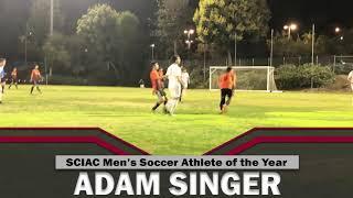Adam Singer - SCIAC Men's Soccer Athlete of the Year