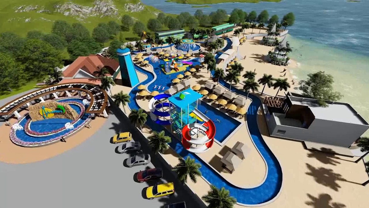 Adventure Beach Waterpark Virtual Tour Youtube