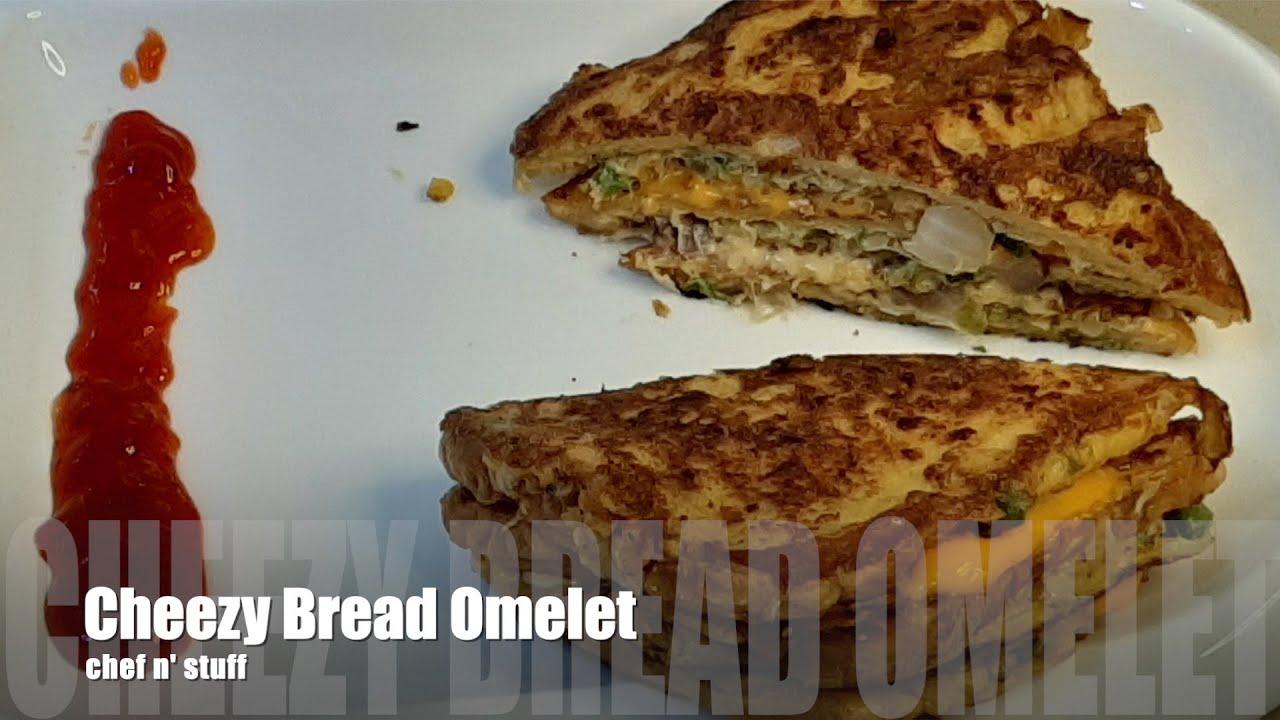 Cheese Bread Omelette - Kids School Lunch👌 Quick Recipe ️ ...