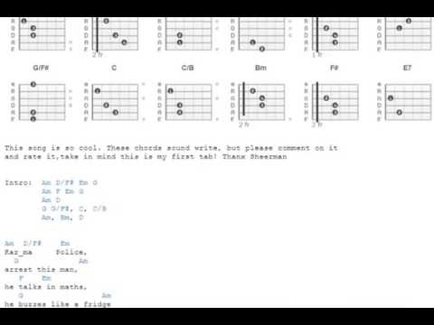 Karma police - Radiohead - Guitar Chords - YouTube