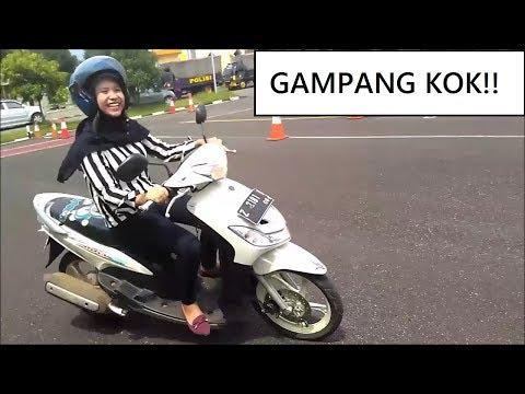 TIPS UJIAN PRAKTIK LAPANGAN SIM C (GAMPANG!) ADA TES DI JALAN RAYA JUGA? Polres Sumedang Jawa Barat