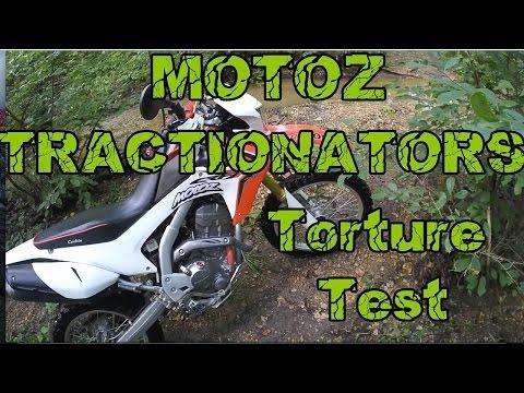 MOTOZ TRACTIONATOR Torture Test CRF250L Extreme Enduro
