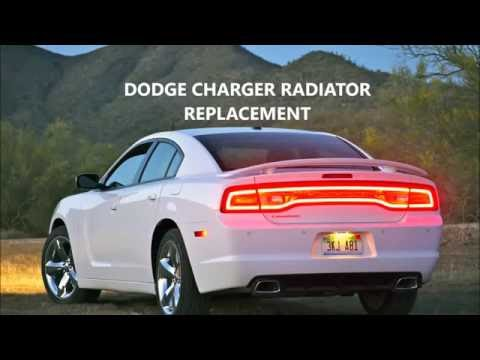DODGE CHARGER RADIATOR REPLACEMENT