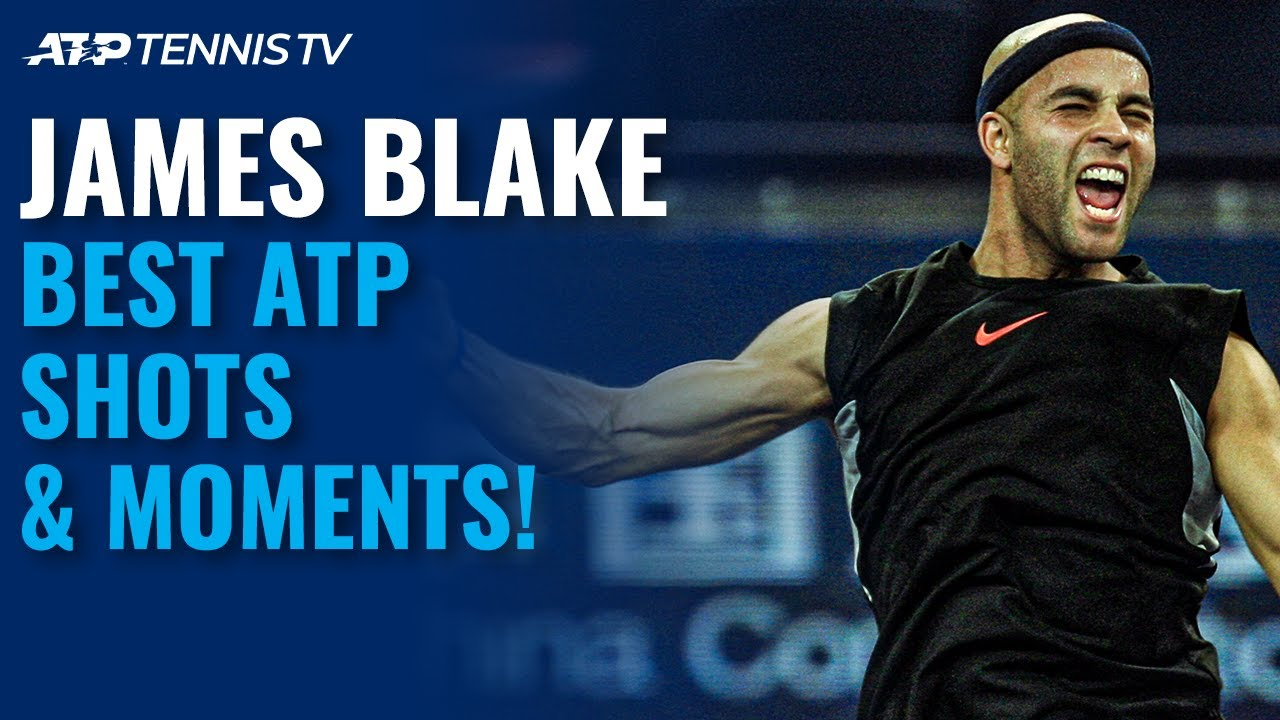 James Blake: Brilliant Shots & Best ATP Moments!