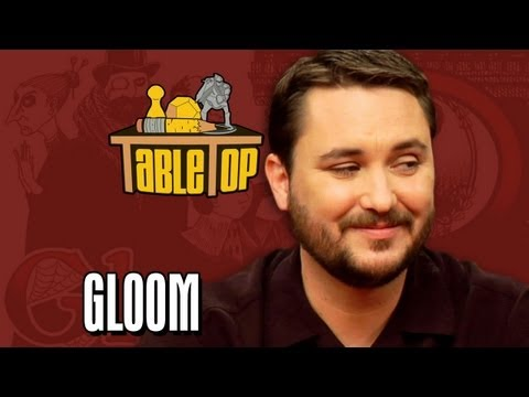 Want to play Gloom with your friends at home? Visit your local game store to purchase it! Or buy it online at: http://amzn.to/18VcQSZ Subscribe to Geek and ...