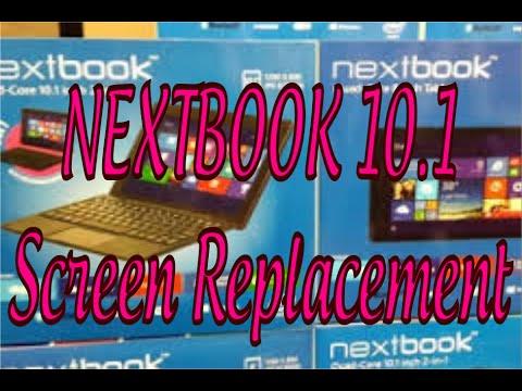 Nextbook 10 1 Screen replacement  Complete tear down  Broke digitizer